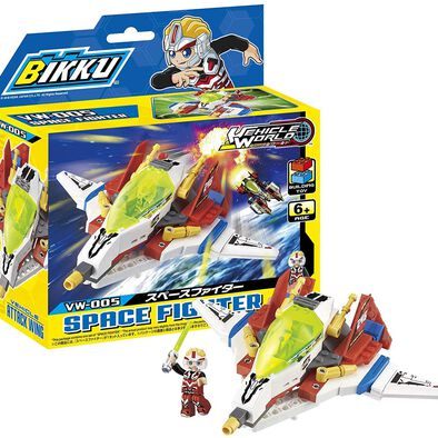 Bikku บิคคุ ตัวต่อบิคคุซีรีส์ 1 สเปซ ไฟท์เตอร์