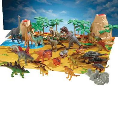 Animal Zone แอนิมอลโซน ชุดฟิกเกอร์ไดโนเสาร์ 40 ชิ้น