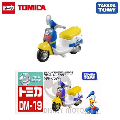 โมเดลรถเหล็กโทมิก้า Dm-19 Chim Chim Donald Duck
