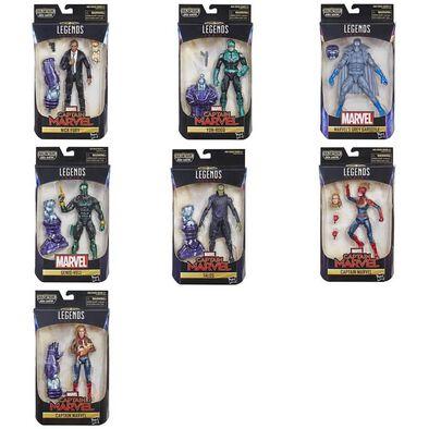 Marvel มาร์เวล กัปตันมาเวล เลเจนด์ ฟิกเกอร์ขนาด 6 นิ้ว (คละลาย)