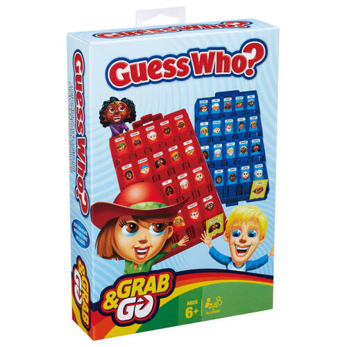 Hasbro Gaming ฮาสโบร เกมมิ่ง Guess Who  แบบพกพา