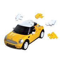 1:32 Mini Cooper 3D Puzzle - Yellow Solid