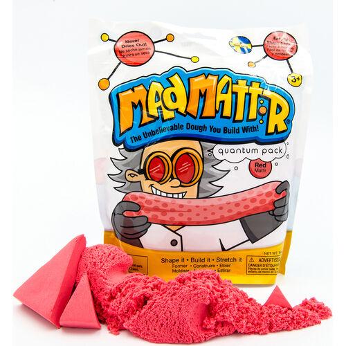 Mad Mattr แมด แมทเทอร์ แป้งโดมหัศจรรย์ 10 ออนซ์ สีแดง