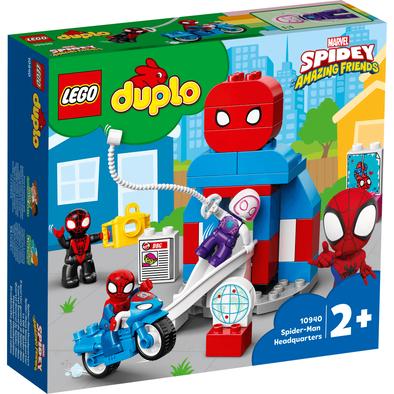 LEGO เลโก้ ดูโปล สไปเดอร์แมน เฮดควอเตอร์ 10940