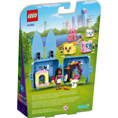 LEGO เลโก้ แอนเดรีย บันนี่ คิ้วบ์ 41666