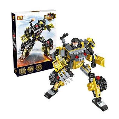 Loz ลอซ ตัวต่อหุ่นยนต์แปลงร่างเป็นรถ