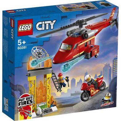 LEGO เลโก้ ซิตี้ ไฟร์ เรสคิว เฮลิคอปเตอร์ 60281