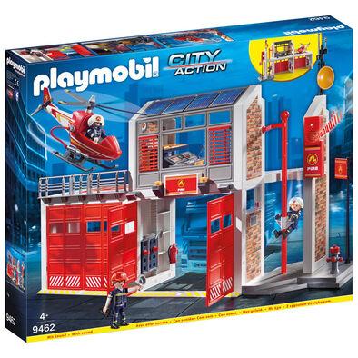 Playmobil เพลย์โมบิล ชุดของเล่นสถานีดับเพลิง