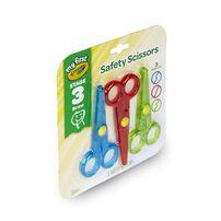 Crayola เครโยล่า กรรไกรเซฟตี้สำหรับเด็กไม่บาดนิ้ว 3ลาย