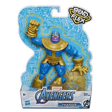 Avenger อเวนเจอร์ ของเล่นแอ็คชั่นฟิกเกอร์มาเวล อเวนเจอร์ส เบนด์ แอนด์ เฟล็กซ์ (คละแบบ)