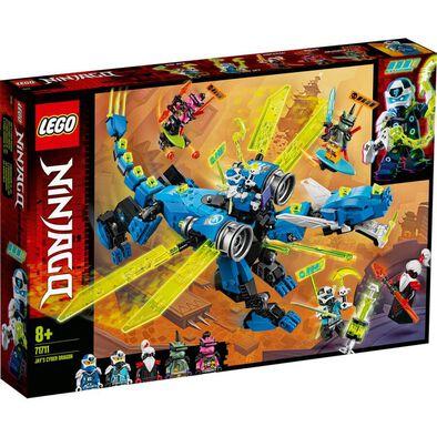 LEGO เลโก้ นินจาโก เจย์ ไซเบอร์ ดรากอน 71711