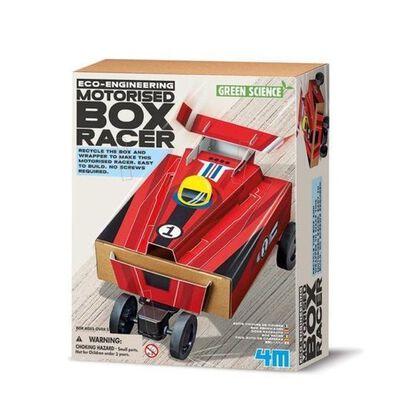 4M โฟร์เอ็ม อีโค เอ็นจิเนียริ่ง - ชุดประกอบรถแข่งทำจากกล่องกระดาษ