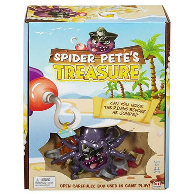 Mattel Games เกมขุมทรัพย์เจ้าแมงมุมพีท