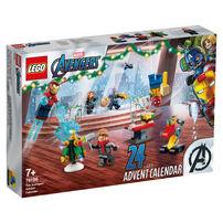 LEGO เลโก้ ซุปเปอร์ฮีโร่ ดิ อเวนเจอร์ แอ๊ดเวนท์ คาเลนดาร์ 76196