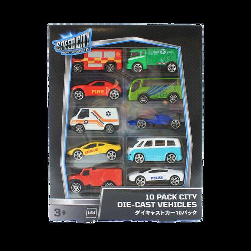 Speed City สปีด ซิตี้ 10 แพค ซิตี้ ไดคาสท์