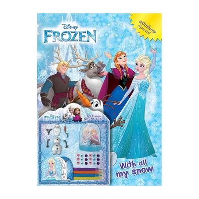 Disney Frozen ดิสนีย์ โฟรเซ่น ลูกแก้วหิมะ DIY