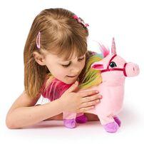 Pitter Patter Pets ตุ๊กตายูนิคอร์นสีชมพูเดินได้