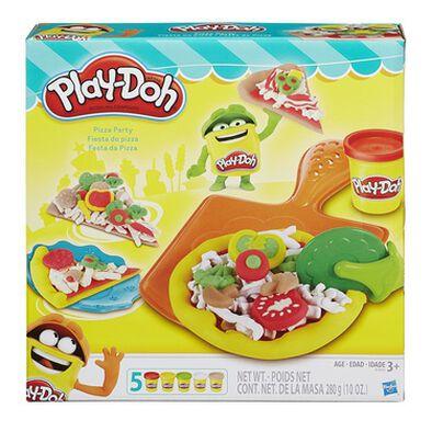 Play-Doh เพลย์โดว ชุดแป้งปั้นปาร์ตี้พิซซ่า