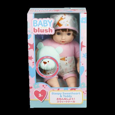 Baby Blush เบบี้ บลัช สลีปปี้ สวีทฮาร์ท แอนด์ เทดดี้ ดอลล์