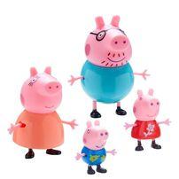 Peppa Pig เป๊ปป้า พิก ฟิกเกอร์สะสมเป๊ปป้าแฟมิลี่ แพ็ก4