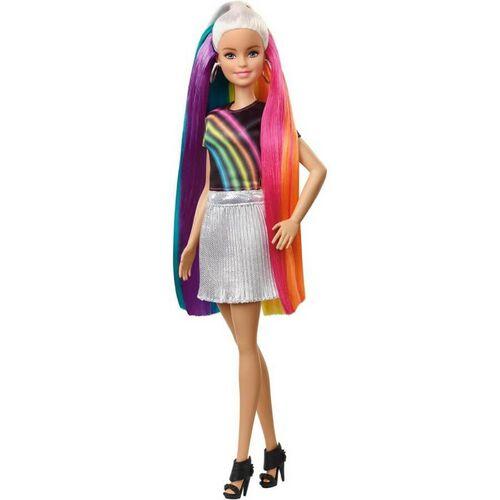 ตุ๊กตา บาร์บี้ ผมยาวสีรุ้ง