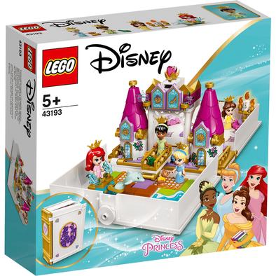 LEGO เลโก้ ดีสนีย์ ปรินท์เซส แอเรียล, แบล, ซินเดอเรลล่า และเทียน่า 43193