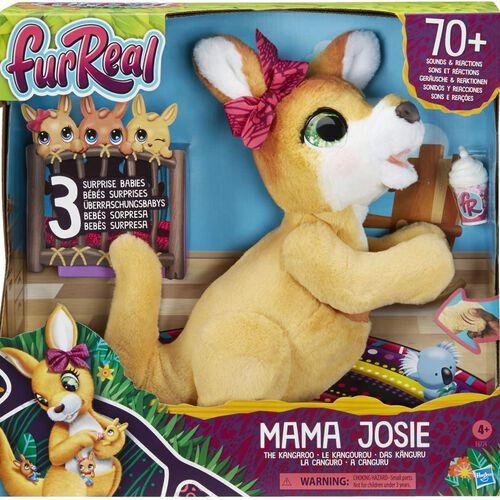 Furreal ตุ๊กตาเฟอร์เรียล มาม่า โจซี่ เดอะ แกงการู