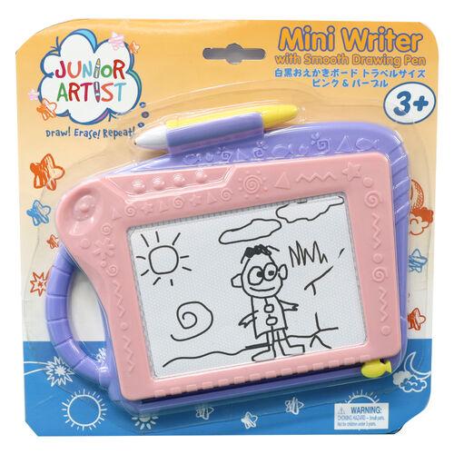 Junior Artist จูเนียร์ อาร์ตทิส กระดานแม่เหล็กวาดเขียน ขนาดเล็ก สีชมพู