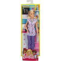 Barbie บาร์บี้ ตุ๊กตาบาร์บี้ในชุดของอาชีพต่างๆ (คละแบบ)