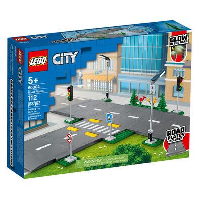 LEGO เลโก้ โร๊ด เพรท 60304
