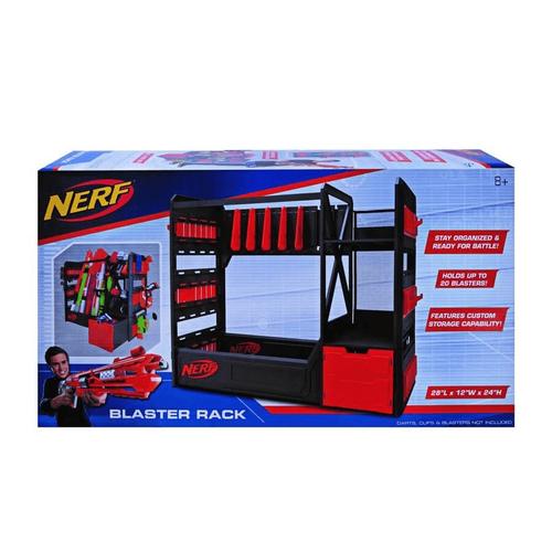 NERF เนิร์ฟ อีลีท บลาสเตอร์ แร็ค ชุดราวแขวนและอุปกรณ์เนิร์ฟ