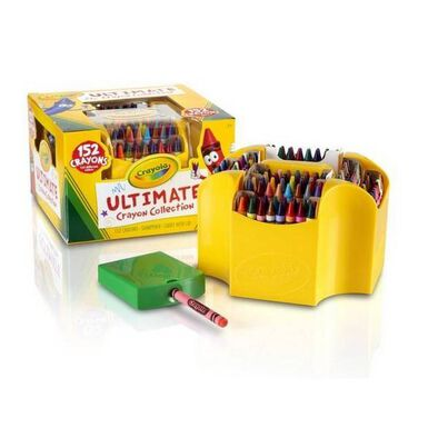 Crayola เครโยล่า กล่องสีเทียน 152 สี