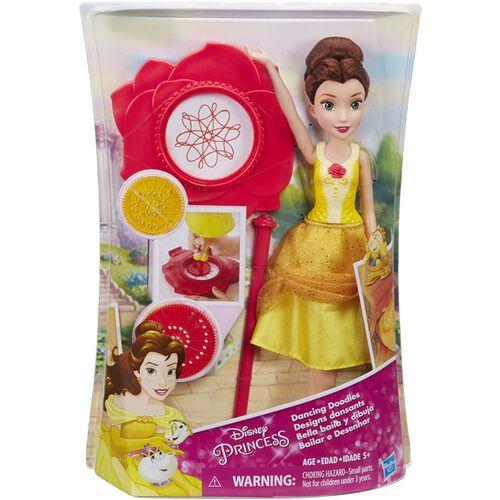 Disney Princess ดิสนีย์ พรินเซส แฟชั่น ดอลล์ แดนซิง ดูเดิ้ล เบลล์