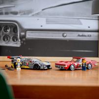 LEGO เลโก้ รถแข่งเชฟโลเร็ต คอร์เวต ซี8อาร์ และ 1968 เชฟโรเล็ตคอร์เวต 76903