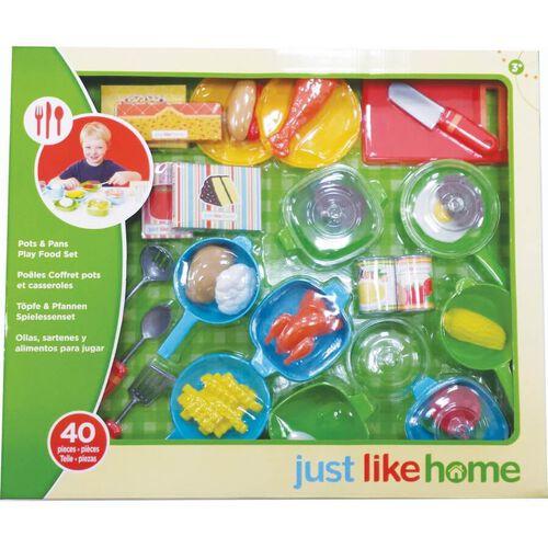 Just Like Home จัส ไลค์ โฮม เซ็ตหม้อและกระทะของเล่น