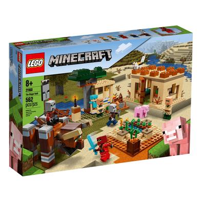 LEGO เลโก้ ไมน์คราฟท์ ดิ อิลเลเกอร์ เรด 21160