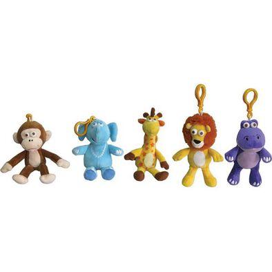 Animal Alley Geoffrey and Friends ตุ๊กตาพวงกุญแจรูปสัตว์ คละแบบ