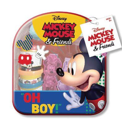 Cra-Z-Art Disney Junior เครซี่อาร์ต ดีสนีย์ จูเนียร์ เซ็ทของเล่นแป้งโดชุดพกพา มิกกี้ หรือ มินนี่ คละแบบ