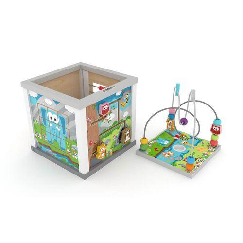 J'adore ฌาดอร์ ของเล่นไม้กล่องกิจกรรมหรรษา ลายสวนสัตว์