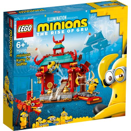 LEGO เลโก้ มินเนี่ยน กังฟู แบ็ทเทิล 75550