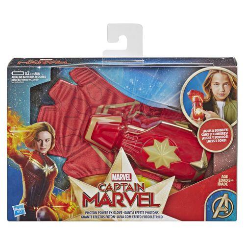 Captain Marvel กัปตัน มาร์เวล ถุงมือกัปตันมาร์เวล โรลเพลย์