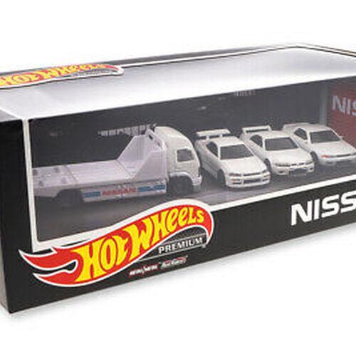 Hot Wheels ฮอตวีล พรีเมี่ยม บ๊อก เซ็ท นิสสัน สกายไลน์ จีที-อาร์