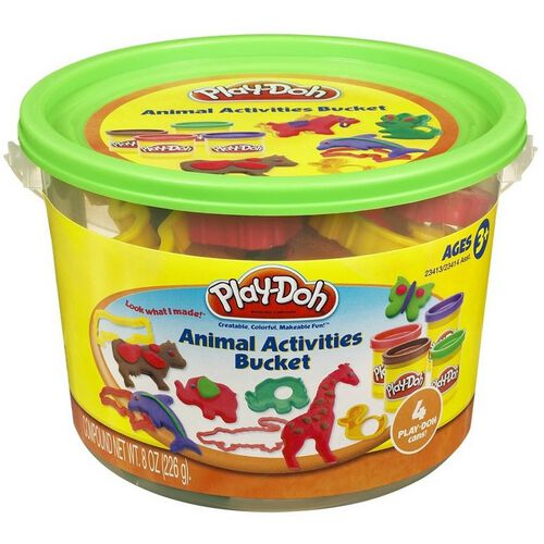 Play-Doh เพลย์โดว์ มินิ บัคเก็ต (คละสี)