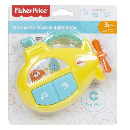 Fisher Price ฟิชเชอร์ ไพรซ์ ออน เดอะ โก มิวสิคัล ซับมารีน