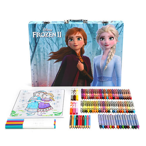 Crayola เครโยล่า กล่องรวมอุปกรณ์ศิลปะแห่งแรงบันดาลใจ ลายโฟรเซ่น2