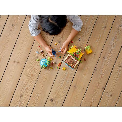 LEGO เลโก้ ดีสนีย์ พรินเซส โมอานา ไอส์แลนด์ โฮม 43183