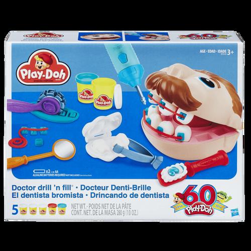 Play-Doh เพลย์โดว์ ชุดแป้งปั้นจำลองบทบาททันตแพทย์