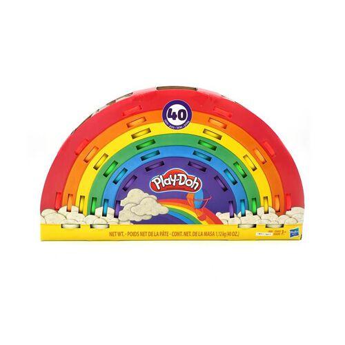 Play-Doh เพลย์โด เซ็ทแป้งปั้นคอมพาวน์ หลากสี