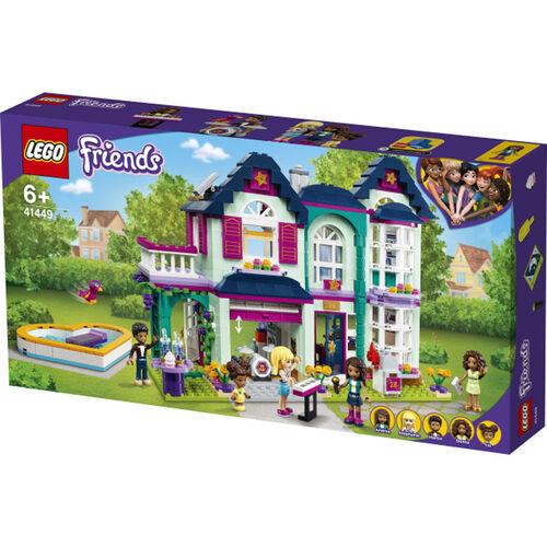 LEGO Friends เลโก้ เฟรนดส์ แอนเดรีย แฟมิลี่ เฮ้าส์ 41449