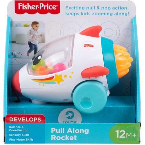 Fisher Price ฟิชเชอร์-ไพรส์ พุล อลอง ร็อคเก็ต